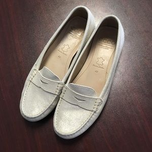 ECCO// Women's Leather Shimmer Loafers